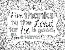 Thanksgiving Bible Coloring Pages 15 Linearts For Free Coloring On