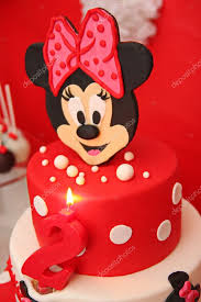 mickey mouse cake stock editorial