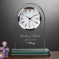 top 100 wedding gifts ugiftideas com Wedding Anniversary Gifts Under 200 personalized glass wedding clock everlasting Gifts for Women $200