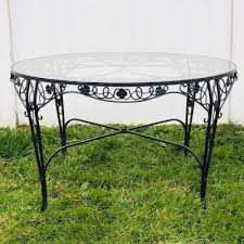 identify vintage wrought iron furniture