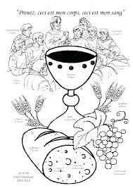 Related Post Communion For Kids Coloring Pages First Catholic Holy