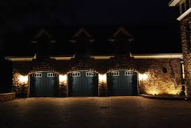 recessed exterior lighting fixtures garage image