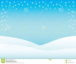 Winter Flyer Template Winter Brochure Background Horizontal Stock Illustration 11