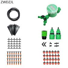 2018 automatic irrigation system 2 way watering kit diy automatic garden watering greenhouse strawberry irrigation from fair2016 56 47 dhgate com