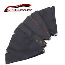 <b>SPEEDWOW</b> Car <b>Shift Knob Shifter</b> Boot Cover <b>Gear</b> Shift Collars ...