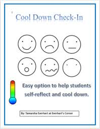 Emotions Chart Combo Cool Down Check In