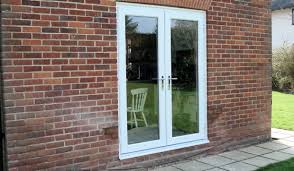 white exterior french doors. Modern Concept White Exterior French Doors With UPVC PVC PVCu