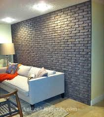 white faux brick panels attractive design ideas faux brick wall home depot paneling for basement walls white faux brick panels