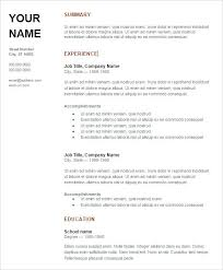 Sample Resume Doc – Yomm