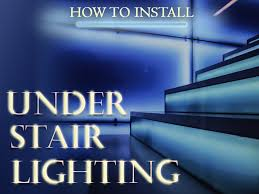 stair lighting. How To Install Under Stair Lighting Stair Lighting
