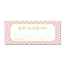 Beauty Salon Gift Certificate Template Free Simple Tastefully