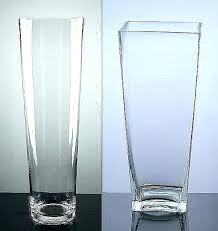 cylinder vases bulk glass vase whole inspirational clear plastic tall v