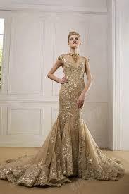 luxury gold dream wedding dress weddceremony com