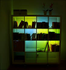 ikea shelf lighting. expeditinvaders light up your expedit ikea shelf lighting