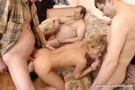 Russian big family orgy