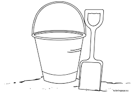 Small Picture Printable Bucket Coloring Page Coloring Coloring Pages
