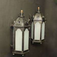 gothic lantern lighting. English Gothic Bronze Antique Wall Lanterns Lantern Lighting (
