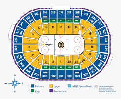 Boston Bruins Seating Chart Bruins Td Garden Seating Chart
