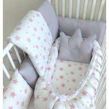 anett newborn baby bedding set pink