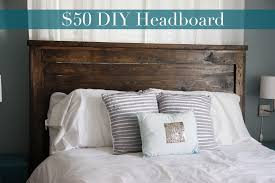 DIY Projects First Project- reclaimed wood look Queen headboard! Brag from  Ana White