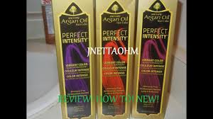 Review Perfect Intensity One N Only Argan Oil Hair Youtube