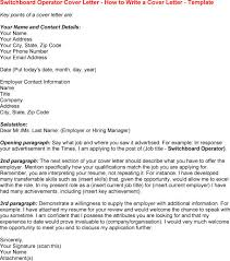 Hospital PBX Operator Job Description switchboard operator cover letter