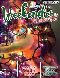 Lindenwood Park Fargo Christmas Lights Weekender Extended By The Weekender Magazine Issuu