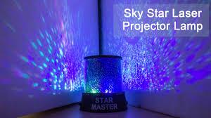Night Stars Bedroom Lamp Amazing Sky Star Laser Projector Lamp Starry Night Light
