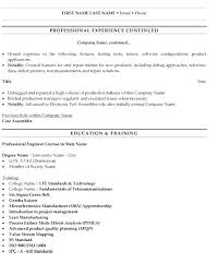 Industrial Engineer Resume Examples Nmdnconference Com Example