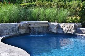 inground pools with rock waterfalls. Gallery Inground Pools With Rock Waterfalls S