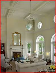 lighting for living room with high ceiling