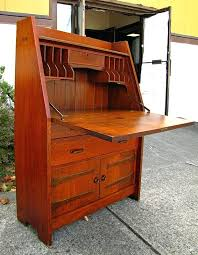 drop front desk home a antique furniture desks within hinge design 8