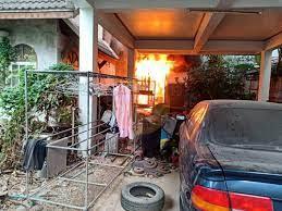 นนทบุรี ไฟไหม้บ้านเดี่ยวย่านเมืองนนท์ พบชายวัย 82 ปีเสียชีวิตในห้องน้ำชั้น  2 - 77 ข่าวเด็ด
