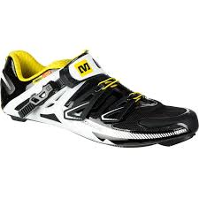 Mavic Mavic Zxellium Shoes Black White Yellow Size 8 5