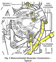 12 things you can do when your zj stalls jeepforum com alternator connector plug at How To Disconnect Alternator Wiring Harness