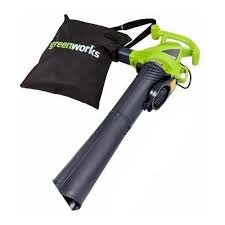 Электрическая <b>воздуходувка greenworks GBV2800</b> 2.8 кВт