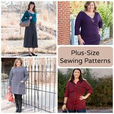 Plus Size Dress Patterns Impressive 48 PlusSize Sewing Patterns You'll Love