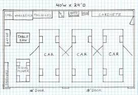 Small Low Cost Economical 2 Bedroom Bath 1200 Sq Ft Single Story 1 Four Car Garage House Plans