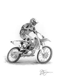 pencil drawing of a pencil. pencil drawing commission of a motorbike by gary tymon g