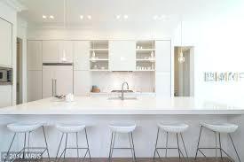 modern crown molding modern kitchen with kitchen island custom hood breakfast bar counters crown design ideas
