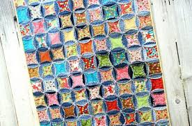 Hip Teen Quilt Patterns on Craftsy: Projects that Are Perfect for ... & Vibrant Rag Quilt with a Twist Adamdwight.com