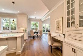 cream colored kitchen cabinets traditional with painted inse