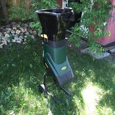 garden mulcher. Yard Works Electric Garden Mulcher/shredder Mulcher D