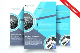 Blank Brochure Template Word Free Best Pamphlet Leaflet Fold