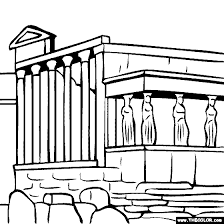 Small Picture Acropolis of Athens Greece Coloring Page History coloring sheets