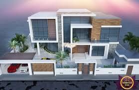 decoration modern luxury. Modern Luxury Villa Exterior Design Decoration