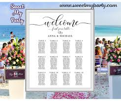Seating Chart Wedding Rustic Wedding Seating Charts Rustic Wedding Seating Plan 022w
