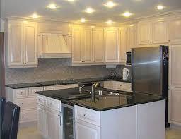 white painted oak kitchen cabinets. Oak Kitchen Cabinets Painted White Before And After R