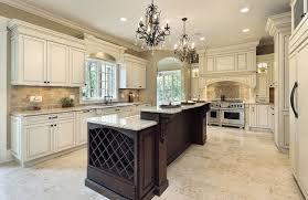 kitchen with white cabinets and white granite countertop
