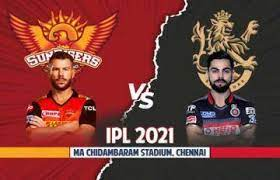 After thrashing the defending champions mumbai indians by two wickets in the opening clash of ipl 2021, the royal challengers bangalore (rcb) are all set to take on the sunrisers hyderabad (srh). Tzxc77xx9bk Sm